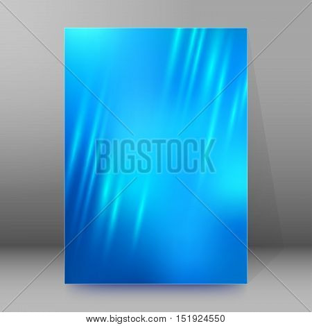 Background Report Brochure Cover Pages A4 Style Abstract Glow18
