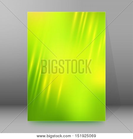 Background Report Brochure Cover Pages A4 Style Abstract Glow19