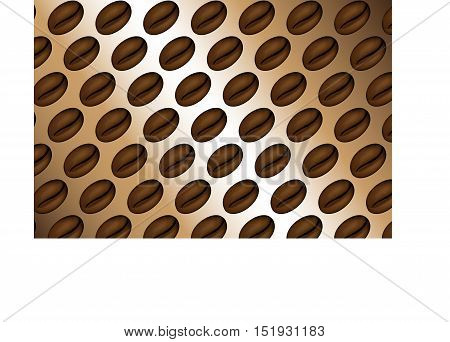 coffee beans , pattern coffee beans , background coffee ,  illustration coffee beans