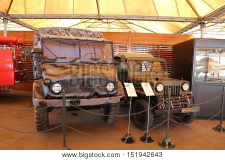 Military Vehicles In Koc Museum