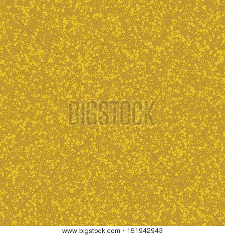 Ornamental background with yellowish small bubbles.Decorative pattern.