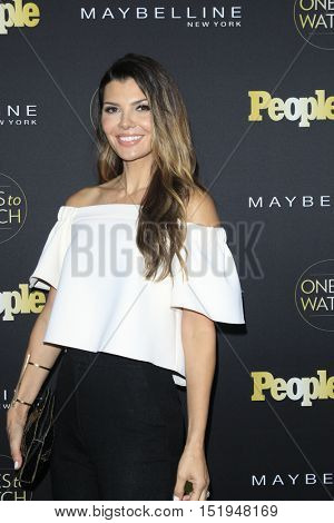 LOS ANGELES - OCT 13:  Ali Landry at the People's One to Watch Party at the E.P. & L.P on October 13, 2016 in Los Angeles, CA