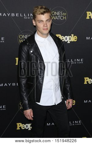 LOS ANGELES - OCT 13:  Levi Meaden at the People's One to Watch Party at the E.P. & L.P on October 13, 2016 in Los Angeles, CA