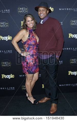 LOS ANGELES - OCT 13:  Guest, Pooch Hall at the People's One to Watch Party at the E.P. & L.P on October 13, 2016 in Los Angeles, CA