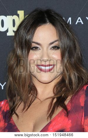 LOS ANGELES - OCT 13:  Katy Mixon at the People's One to Watch Party at the E.P. & L.P on October 13, 2016 in Los Angeles, CA