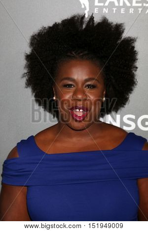 LOS ANGELES - OCT 13:  Uzo Aduba at the