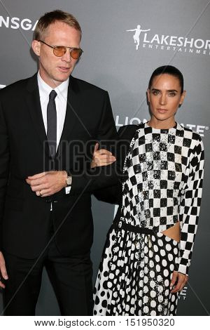 LOS ANGELES - OCT 13:  Paul Bettany, Jennifer Connelly at the