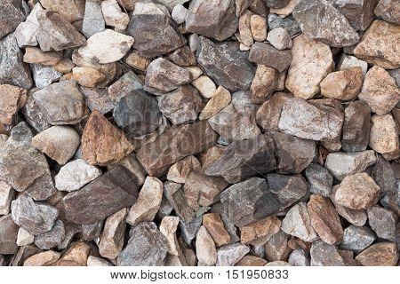 Many stones  Background , stones texture ,