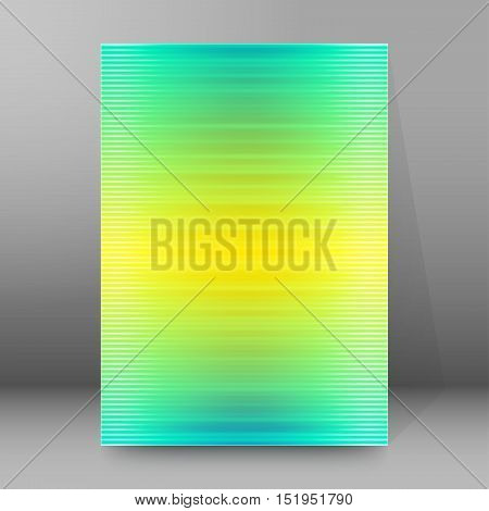 Background Report Brochure Cover Pages A4 Style Abstract Glow78