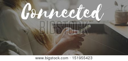 Connected Connect Connection Social Media Concept