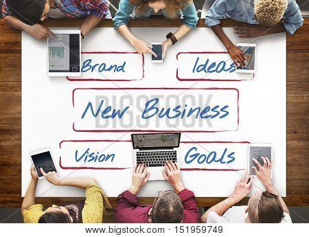 Business Entrepreneur Strategy Development Ideas Concept
