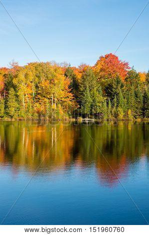 Autumn Colors In Quebec, Canada