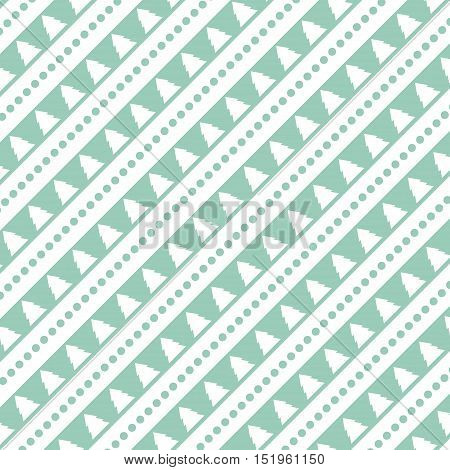 Pattern of diagonal christmas tree. Abstract background, vector illustration