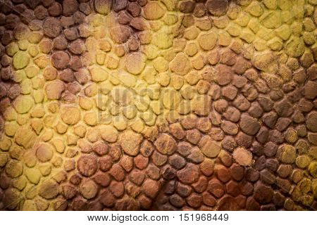 Orange Reptiles Dinosaur Skin texture and background