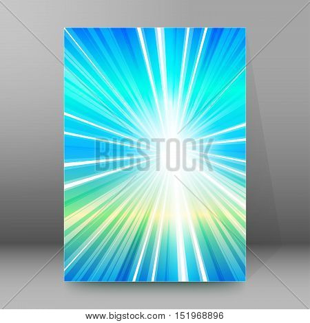 Background Report Brochure Cover Pages A4 Style Abstract Glow93