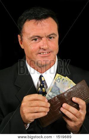 Smug Salesman