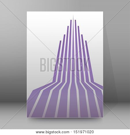 Background Report Brochure Cover Pages A4 Style Abstract01