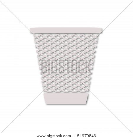 Simple Vector Recycle Bin Trash and Garbage icon