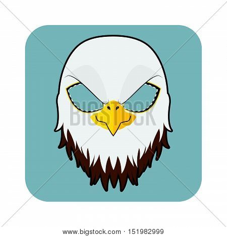 Eagle Mask For Halloween And Other Festivities