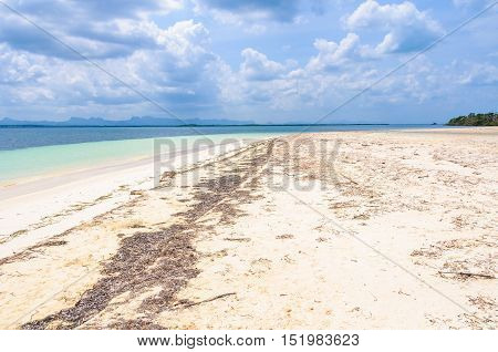 Secluded White Sand Beach In Cayo Levisa Island In Cuba