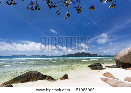 Anse Grosse Roche, La Digue, Seychelles