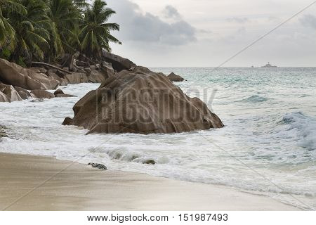 Anse Patates, La Digue, Seychelles