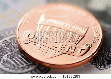 Us Dollar And Cent