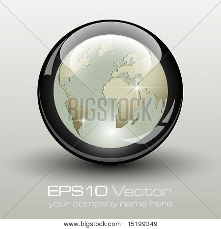 Elegant business element - vector illustration