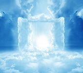 stock photo of gates heaven  - Doors to Paradise - JPG