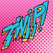 An image of twip comic book text.