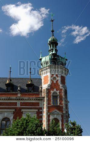 Ottendorfer´s Library in Svitavy