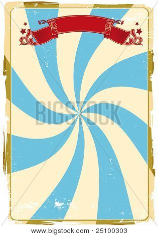 Circus Grunge Background