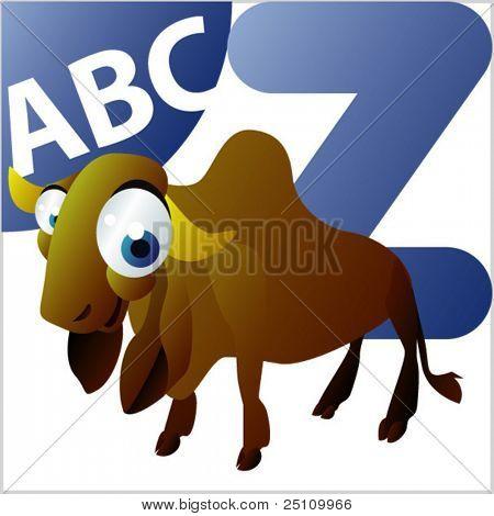 ABC Animals: Z is for Zebu