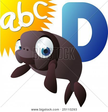ABC animals: D is for Dugong