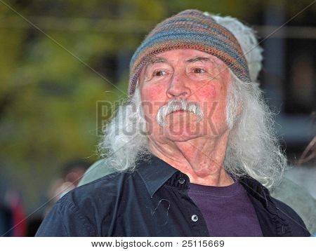 David Crosby at Liberty Park