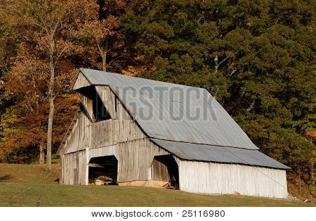 Barn in the Shawnee