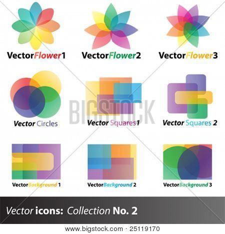 Vector icons collection 2