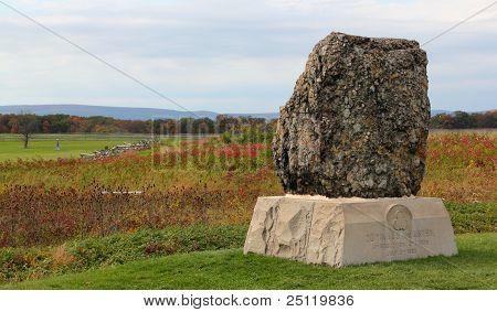 20th massachusetts infantry monument