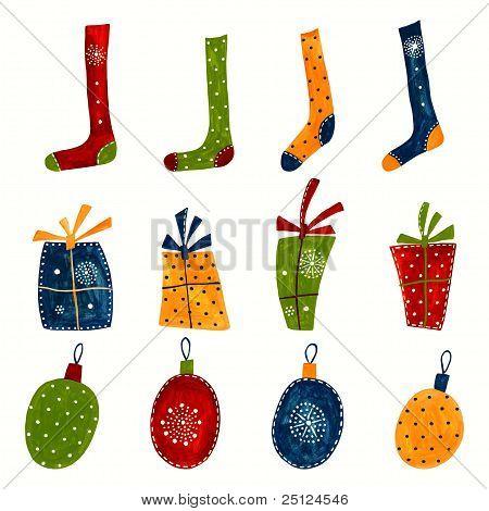 Christmas decorative elements