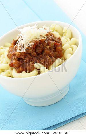 Macaroni  Bolognese