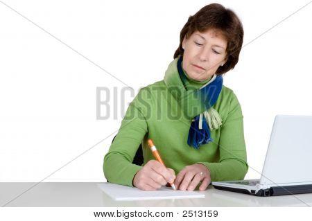 Active Senior Woman