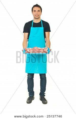 Full Length Of Butcher