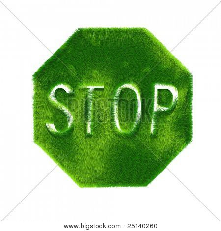 Ecological Stop Sign