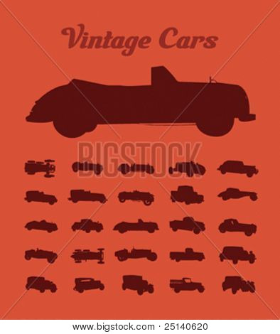Vintage Cars Collection 2