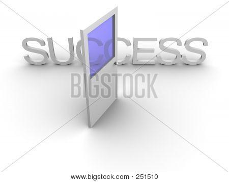 Door To Success Open