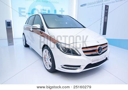 Mercedes E-cell