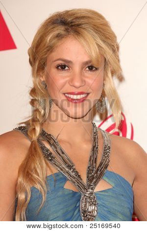 LOS ANGELES - NOV 9:  Shakira arrives at the 2011 Latin Recording Academy's Person of the Year honoring Shakira at Mandalay Bay Resort & Casino on November 9, 2011 in Las Vegas, NV