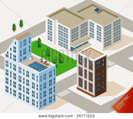 Hotel Isometric