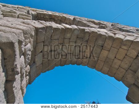Arch Detail Of Aquaduct