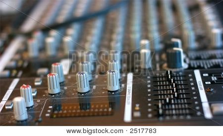 Audio Mixing Table